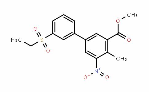 methyl 3'-(ethylsulfonyl)-4-methyl-5-nitrobiphenyl-3-carboxylate