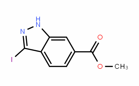 Methyl 3-iodo-1H-indazole-6-carboxylate