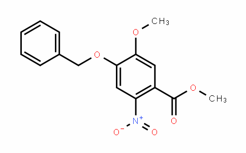 methyl 4-(benzyloxy)-5-methoxy-2-nitrobenzoate