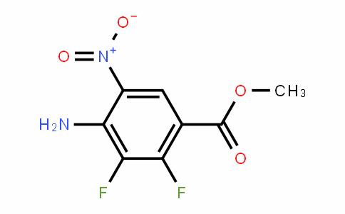 methyl 4-amino-2,3-difluoro-5-nitrobenzoate