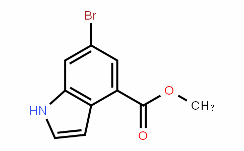 methyl 6-bromo-1H-indole-4-carboxylate