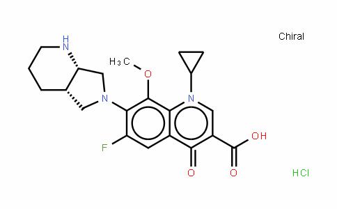 Moxifloxacin (Hydrochloride)