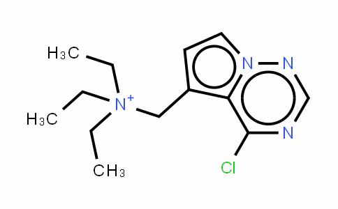 N-((4-chloropyrrolo[1,2-f][1,2,4]triazin-5-yl)methyl)-N,N-diethylethanaminium