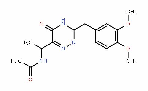 N-(1-(3-(3,4-dimethoxybenzyl)-5-oxo-4,5-dihydro-1,2,4-triazin-6-yl)ethyl)acetamide