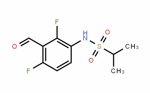 N-(2,4-difluoro-3-formylphenyl)propane-2-sulfonamide