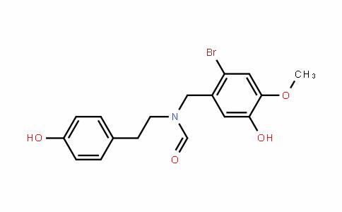 (N-(对羟基乙基)-N-(2-溴-5-羟基-4-甲氧基))甲酰胺