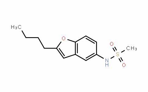 N-(2-butylbenzofuran-5-yl)methanesulfonamide