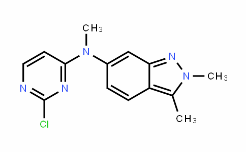 N-(2-氯嘧啶-4-基)-N-甲基-2,3-二甲基-2H-吲唑-6-胺