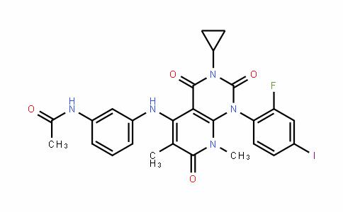N-(3-(3-cyclopropyl-1-(2-fluoro-4-iodophenyl)-6,8-dimethyl-2,4,7-trioxo-1,2,3,4,7,8-hexahydropyrido[2,3-d]pyrimidin-5-ylamino)phenyl)acetamide