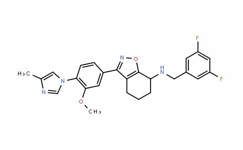 N-(3,5-difluorobenzyl)-3-(3-Methoxy-4-(4-Methyl-1H-iMidazol-1-yl)phenyl)-4,5,6,7-tetrahydrobenzo[d]isoxazol-7-aMine