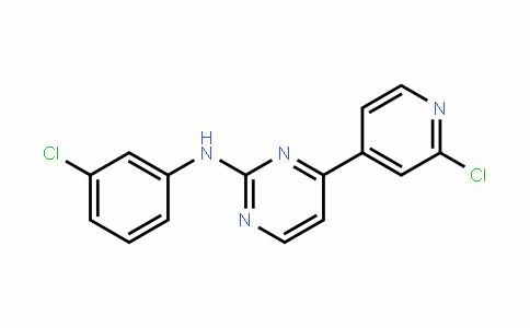 N-(3-chlorophenyl)-4-(2-chloropyridin-4-yl)pyrimidin-2-amine