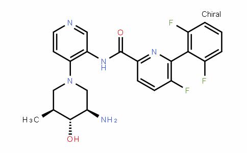 N-(4-((3R,4R,5S)-3-aMino-4-hydroxy-5-Methylpiperidin-1-yl)pyridin-3-yl)-6-(2,6-difluorophenyl)-5-fluoropicolinaMide