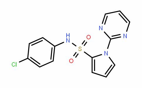 N-(4-chlorophenyl)-1-(pyriMidin-2-yl)-1H-pyrrole-2-sulfonaMide