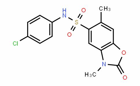 N-(4-chlorophenyl)-3,6-diMethyl-2-oxo-2,3-dihydrobenzo[d]oxazole-5-sulfonaMide