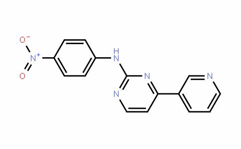 N-(4-Nitrophenyl)-4-(3-pyridyl)-2-pyrimidineamine