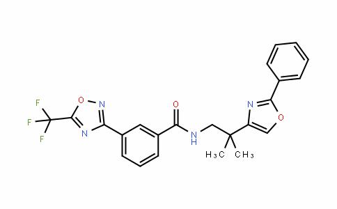 N-[2-Methyl-2-(2-phenyloxazol-4-yl)propyl]-3-[5-(trifluoroMethyl)-1,2,4-oxadiazol-3-yl]benzaMide