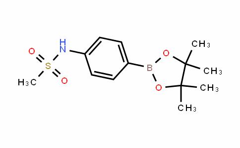 N-[4-(4,4,5,5-Tetramethyl-1,3,2-dioxaborolan-2-yl)phenyl]methanesulfonamide