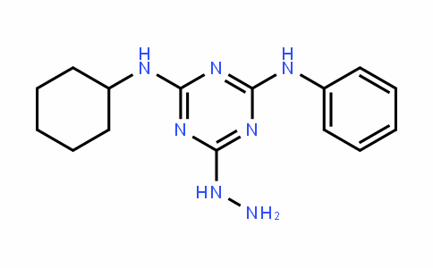 N2-cyclohexyl-6-hydrazinyl-N4-phenyl-1,3,5-triazine-2,4-diamine