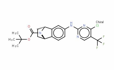 Naphthalen-1,4-iMine-9-carboxylic acid, 6-[[4-chloro-5-(trifluoroMethyl)-2-pyriMidinyl]aMino]-1,2,3,4-tetrahydro-, 1,1-diMethylethyl ester