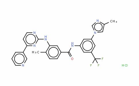 Nilotinib (monohydrochloride monohydrate)