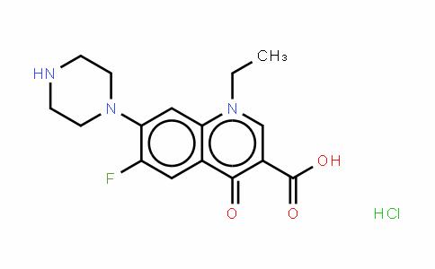 Norfloxacin (hydrochloride)