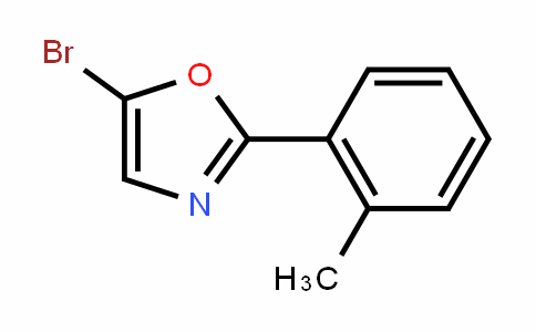 Oxazole, 5-bromo-2-(2-methylphenyl)-