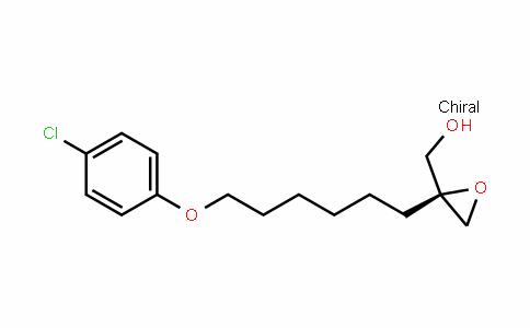 OxiraneMethanol, 2-[6-(4-chlorophenoxy)hexyl]-, (2S)-
