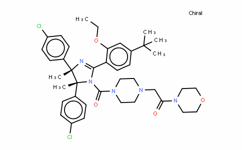 p53 and MDM2 proteins-interaction-inhibitor (chiral)