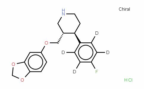 Paroxetine (hydrochloride hemihydrate)