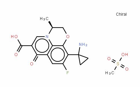 Pazufloxacin (mesylate)