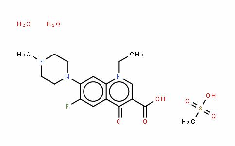 Pefloxacin (mesylate dihydrate)