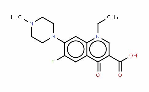 Pefloxacin (mesylate)
