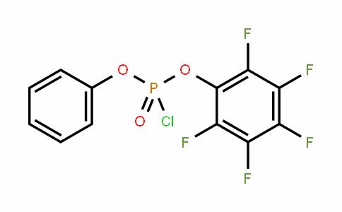 Pentafluorophenyl phenyl chlorophosphate