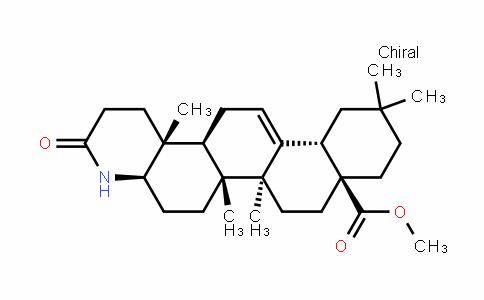 Phenanthro[2,1-f]quinoline-8a(1H)-carboxylic acid, 2,3,4,4a,5,6,6a,6b,7,8,9,10,11,12,12a,14,14a,14b-octadecahydro-6a,6b,11,11,14b-pentaMethyl-3-oxo-, Methyl ester, (4aR,6aR,6bS,8aS,12aS,14aS,14bR)-