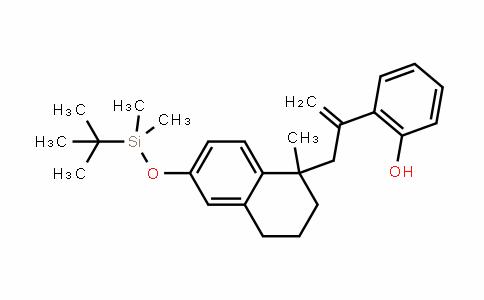 Phenol, 2-[1-[[6-[[(1,1-diMethylethyl)diMethylsilyl]oxy]-1,2,3,4-tetrahydro-1-Methyl-1-naphthalenyl]Methyl]ethenyl]-