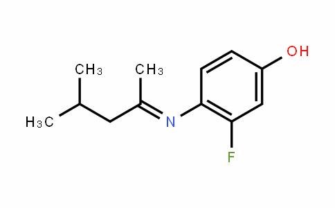 Phenol, 4-[(1,3-diMethylbutylidene)aMino]-3-fluoro-