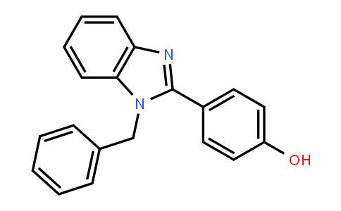 Phenol, p-(1-benzyl-2-benzimidazolyl)-