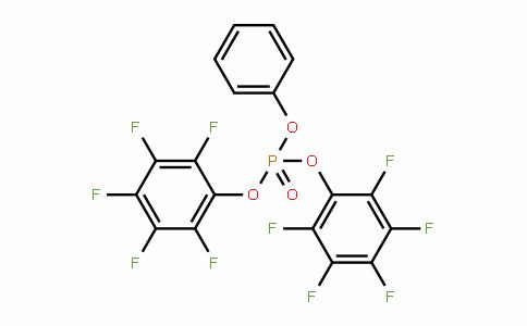 Phosphoric acid, bis(pentafluorophenyl) phenyl ester