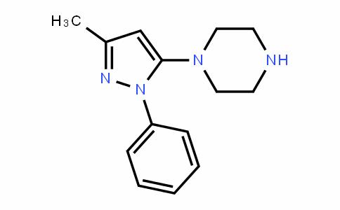 Piperazine, 1-(3-methyl-1-phenyl-1H-pyrazol-5-yl)-