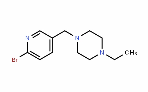 Piperazine, 1-[(6-broMo-3-pyridinyl)Methyl]-4-ethyl-
