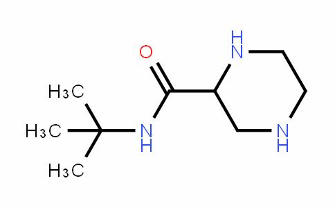 N-叔丁基-2-哌嗪酰胺