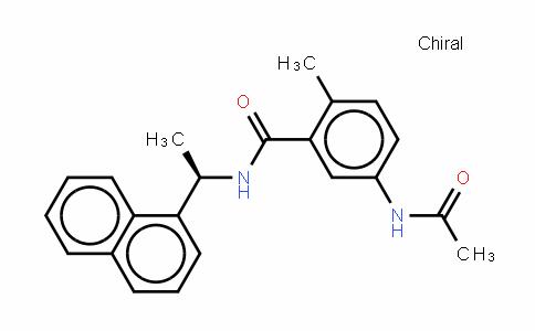 5-(乙酰氨基)-2-甲基-N-[(1R)-1-(1-萘基)乙基]苯甲酰胺