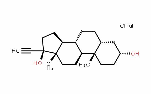 Pregn-20-yne-3,17-diol, (3α,5β,17α)-