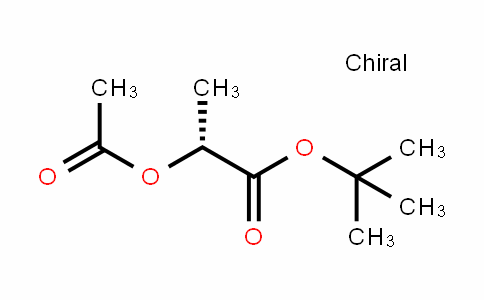 Propanoic acid, 2-(acetyloxy)-, 1,1-dimethylethyl ester, (R)- (9CI)