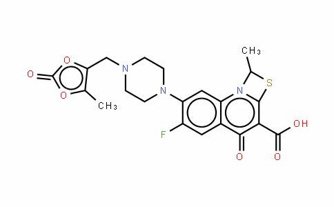 Prulifloxacin (hydrochloride)