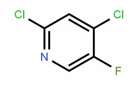 Pyridine, 2,4-dichloro-5-fluoro-