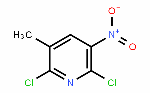 Pyridine, 2,6-dichloro-3-Methyl-5-nitro-