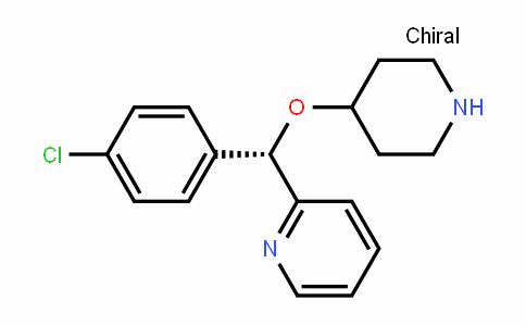 Pyridine, 2-[(S)-(4-chlorophenyl)(4-piperidinyloxy)methyl]-