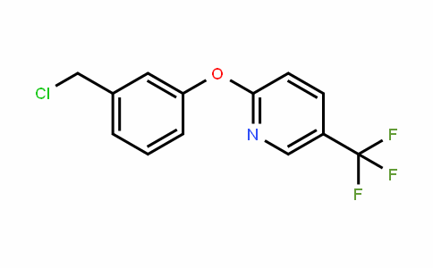 Pyridine, 2-[3-(chloromethyl)phenoxy]-5-(trifluoromethyl)-