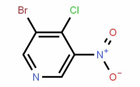 Pyridine, 3-bromo-4-chloro-5-nitro-